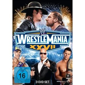 Wrestlemania - Wrestlemania 27 [3 DVD] - 1 DVD