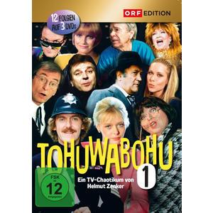 ORF Edition - Tohuwabohu: Folgen 01 - 12 - 3 DVD