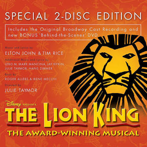 Musical - The Lion King (Broadway) - 2 CD+DVD