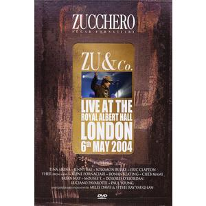 Zucchero - Zu & Co-Live At The Roya - 1 DVD