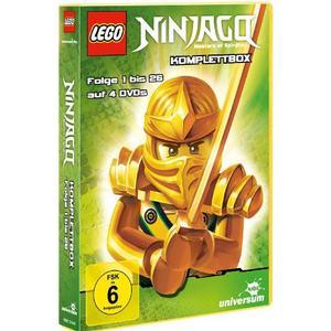 Various - Lego Ninjago DVD-Box (4 Discs) - 1 DVD