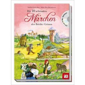Various - Die 10 Schönsten Märchen Der Brüder Grimm - 2 CD+Buch