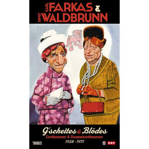 Farkas, Karl, Waldbrunn, Ernst - Farkas & Waldbrunn - G'scheites & Blödes - 1 DVD