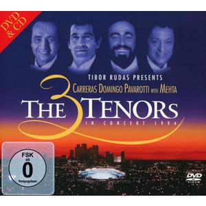 Domingo, P. / Carreras, J. / Pavarotti, L. / Mehta, Z. - The 3 Tenors In Concert 1994 - 2 CD+DVD