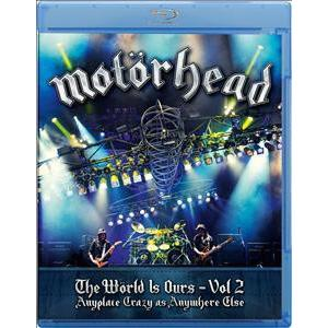 Motörhead - The Wörld Is Ours - Vol. 2 Anyplace Crazy As Anywhere - 1 BR