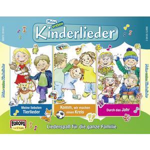 Kinderliederbande - 01 / 3er Box - Meine Ersten Kinderlieder - 3 CD