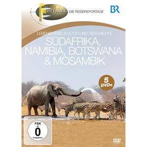 BR - Fernweh - Südafrika, Namibia, Botswana & Mosambik - 5 DVD