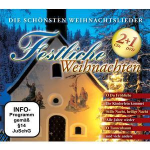 Various - Festliche Weihnachten - 3 CD+DVD
