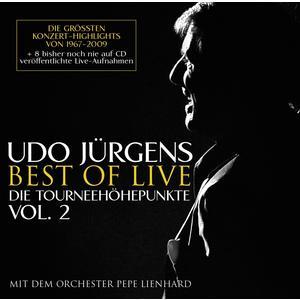 Jürgens, Udo - Best Of Live - Die Tourneehöhepunkte, Vol. 2 - 2 CD
