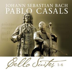 Bach / Casals - Bach Cello Suites 1 - 6 - 2 CD