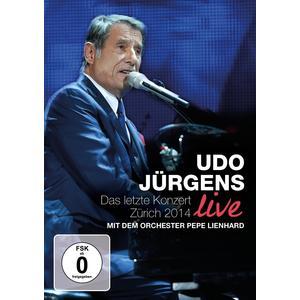 Jürgens, Udo - Das Letzte Konzert / Zürich 2015 - 1 DVD