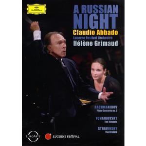 Grimaud / Abbado / + - A Russian Night - 1 DVD