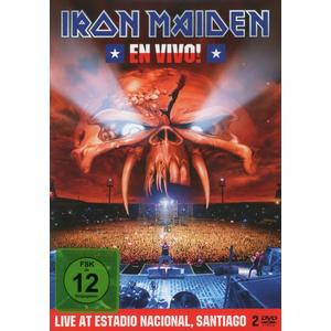 Iron Maiden - En Vivo! Live In Santiago De Chile - 2 DVD