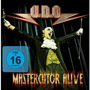 UDO - Mastercutor - Alive - 3 CD+DVD