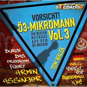 Walek, Thomas - Ö3 Mikromann Vol. 3 - 1 CD