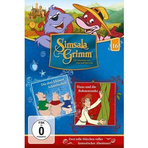 Simsalagrimm - 16: Drei Kleinen Schweinh. - 1 DVD