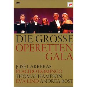 Domingo/ Carreras / Hampson - Die Große Operettengala - 1 DVD