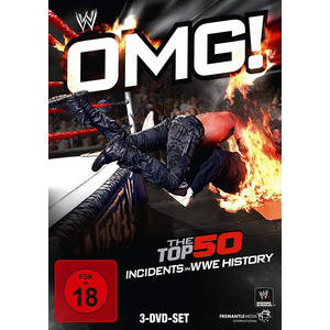 WWE - Omg! - The Top 50 Incidents In Wwe... [3 DVDs] - 3 DVD