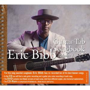 Bibb, Eric - Guitar Tab - Songbook Vol.1 - 3 CD