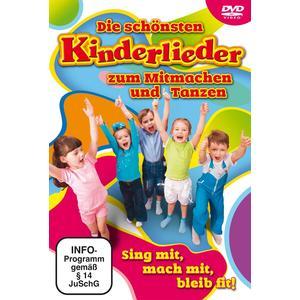 Various - Die Schönsten Kinderlieder Zum Mitmachen & Tanzen - 1 DVD