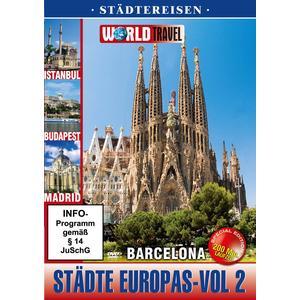 World Travel - Städte Europas Vol. 2 - Süd Europa - 1 DVD