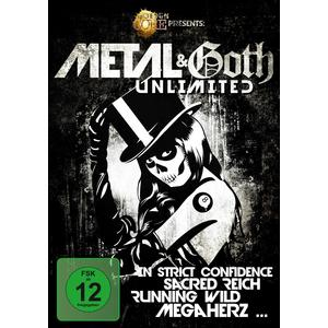 Various - Metal & Goth Unlimited - 1 DVD