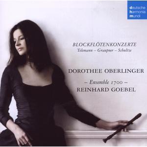 Oberlinger, Dorothee / Goebel, R. / Ensemble 1700 - Blockflötenkonzerte - 1 CD