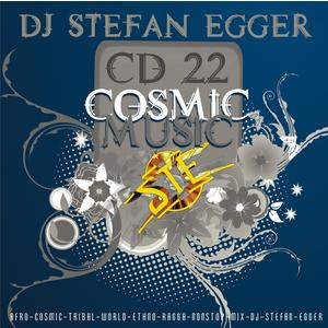 DJ Stefan Egger - CD 22 - Cosmic-Music - 1 CD