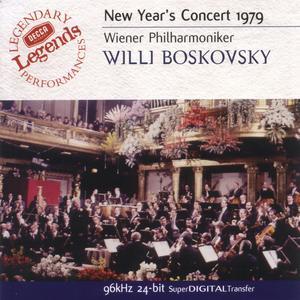 Boskovsky, Willi / Wiener Philharmoniker - Neujahrskonzert 1979 / Legends - 1 CD