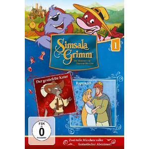 Simsla Grimm - 1 / Der gestiefelte Kater/Rapunzel - 1 DVD