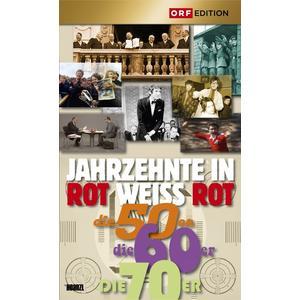 Dokumentation - Jahrzehnte In Rot - Weiss - Rot: Die 50er, 60er, 70er - 1 DVD