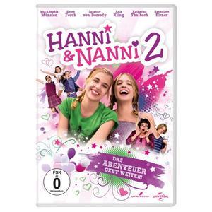 Sophia Munster,Jana Munster,Hannelore Elsner - Hanni und Nanni 2 - 1 DVD