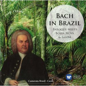 Musik-CD BACH IN BRAZIL:BAROQUE MEETS BOSSA NOVA&SAMBA / Camerata Brasil, (1 CD)