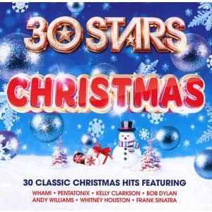 VARIOUS - 30 STARS CHRISTMAS - 2 CD