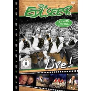 Musik-CD Live / Edlseer,Die, (1 DVD-Video Album)