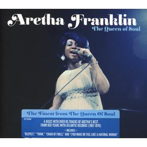 Franklin,Aretha - The Queen Of Soul - 4 CD