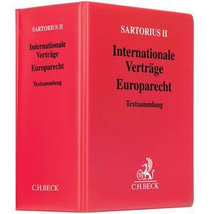Internationale Verträge - Europarecht