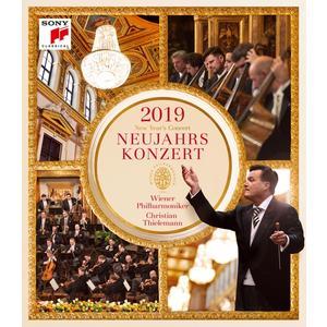 Thielemann,Christian/Wiener Philharmoniker - Neujahrskonzert 2019 - 1 Blu-Ray