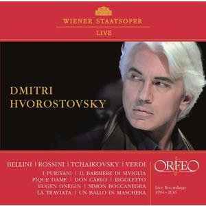 Hvorostovsky,Dmitri - Live in der Wiener Staatsoper - 1 CD