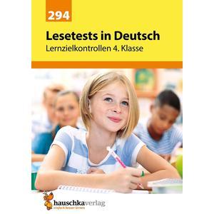 Lesetests in Deutsch - Lernzielkontrollen 4. Klasse, A4- Heft