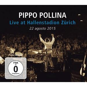 Musik-CD Live at Hallenstadion Zürich / Pollina,Pippo, (3 CD + DVD Video)