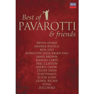 Musik-CD DUETS, THE / Pavarotti,Luciano/+, (1 DVD-Video Album)
