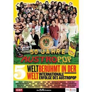 Musik-CD Folge 05: Weltberühmt in der Welt-Internationale / 50 Jahre Austropop, (1 DVD-Video Album)