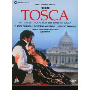Domingo,Placido/Malfitano,Catherine/Metha,Zubin - Tosca(In The Settings And At The Times Of Tos - 1 DVD