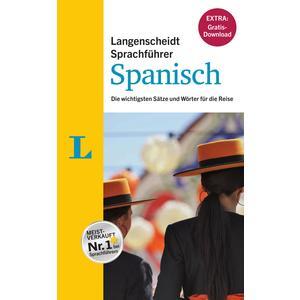 """Langenscheidt Sprachführer Spanisch - Buch inklusive E-Book zum Thema """"Essen & Trinken"""""""