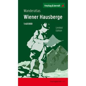 Wiener Hausberge, Wanderatlas 1:40.000, Jubliäumsausgabe