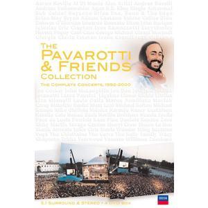 PAVAROTTI,LUCIANO - PAVAROTTI & FRIENDS COLLEC - 4 DVD