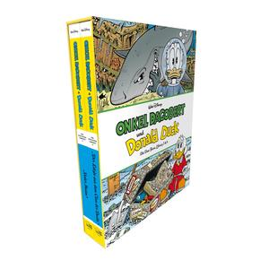 Onkel Dagobert und Donald Duck - Don Rosa Library Schuber 2