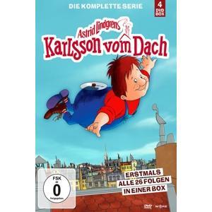 Lindgren A. - Karlsson Vom Dach - 4 DVD