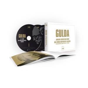Musik-CD Das Wohltemperierte Klavier / Gulda,Friedrich, (4 CD)